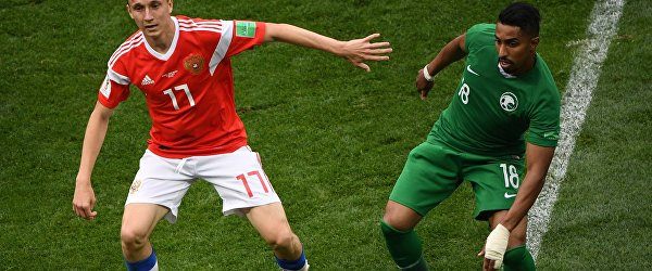 Александр Головин (Россия) и Салем Ад-Даусари (Саудовская Аравия)  (слева направо)
