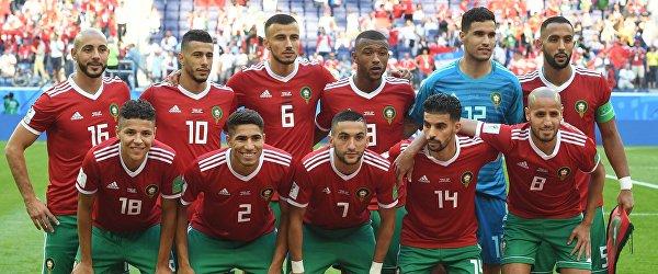 Игроки сборной Марокко