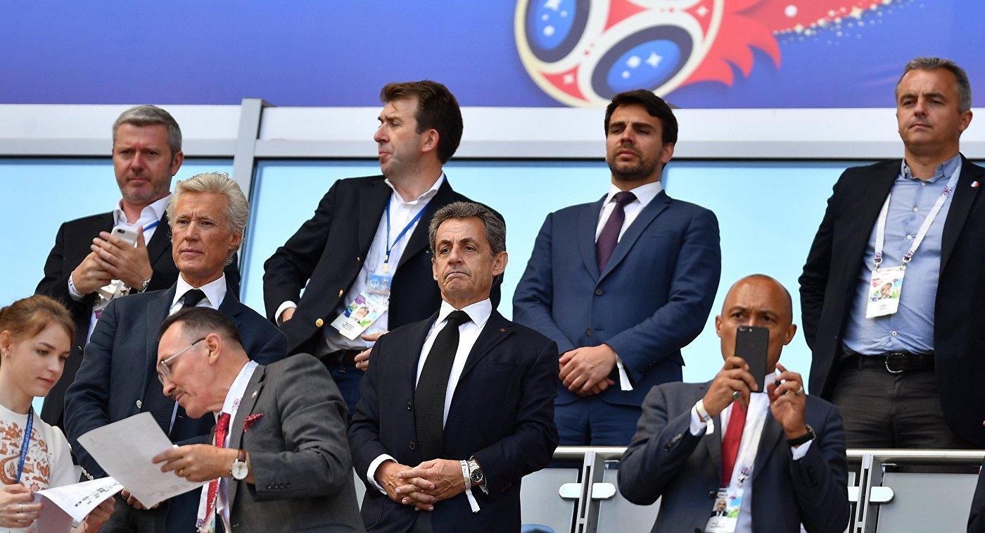 Саркози назвал «фантастической» атмосферу наЧМ пофутболу в Российской Федерации