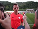 Нападающий сборной Польши Аркадиуш Милик
