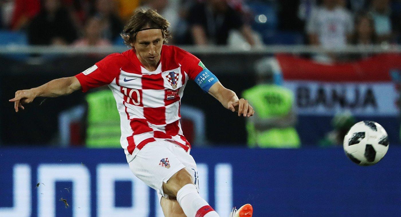 Лука Модрич - лучший игрок чемпионата мира 2018 по футболу