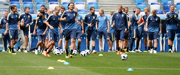 Футболисты сборной Швеции
