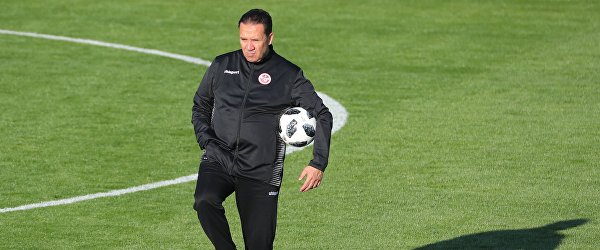 Главный тренер сборной Туниса Набиль Маалул