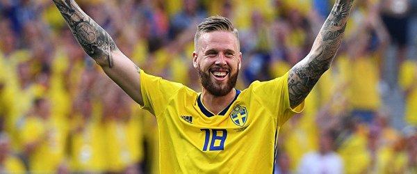 Защитник сборной Швеции Понтус Янссон