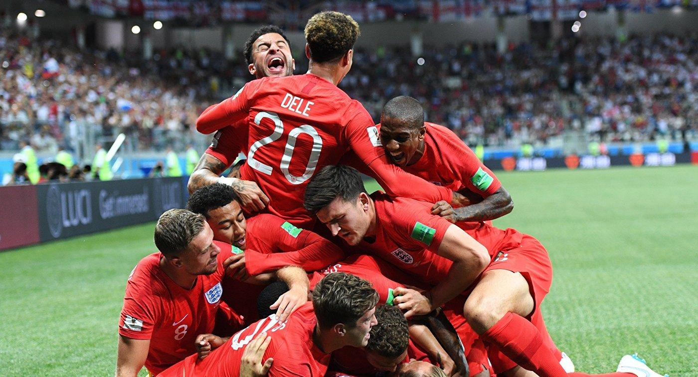 Игроки сборной Англии