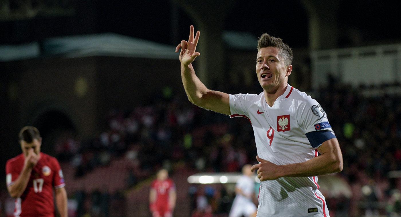 Левандовски забил 24 гола в 24 последних матчах