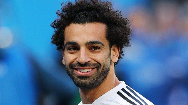 Египетский футболист Мохаммед Салах