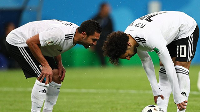 Футболист сборной Египта Мохамед Салах