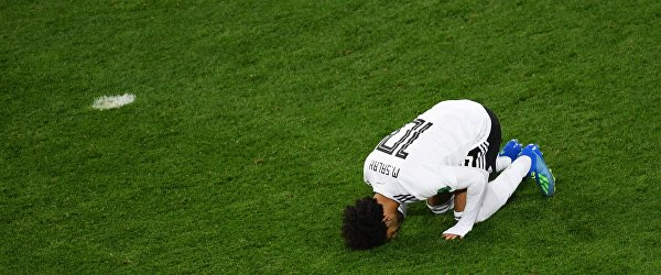 Египетский футболист Мохамед Салах