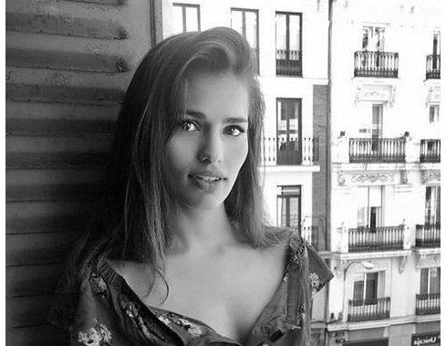Актриса Сара Саламо.