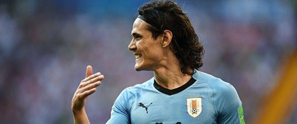 Форвард сборной Уругвая Эдинсон Кавани