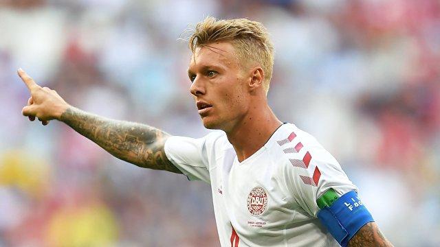 Защитник сборной Дании Симон Кьяер