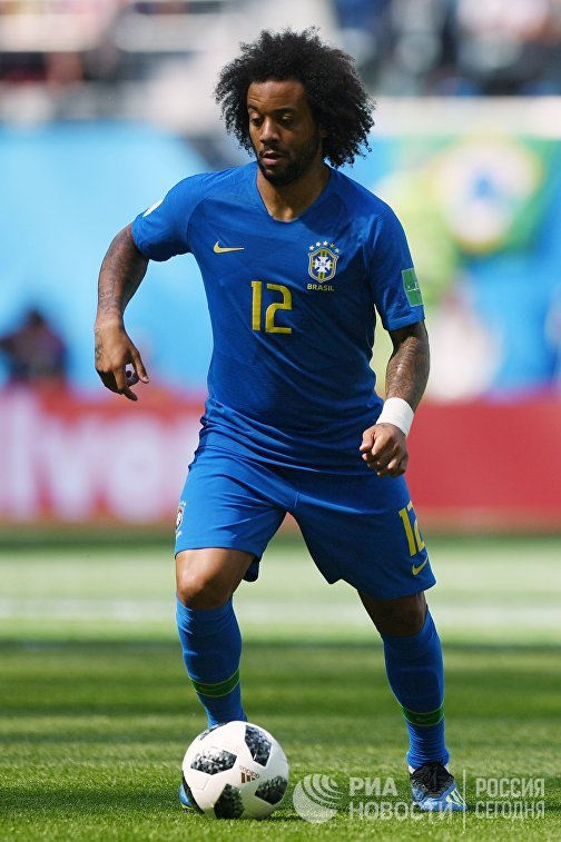 Защитник бразильцев Марсело