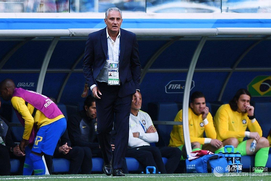 Главный тренер сборной Бразилии Тите