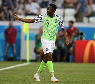 Нигерийский нападающий Ахмед Муса