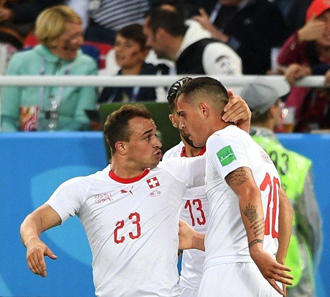 Игроки сборной Швейцарии