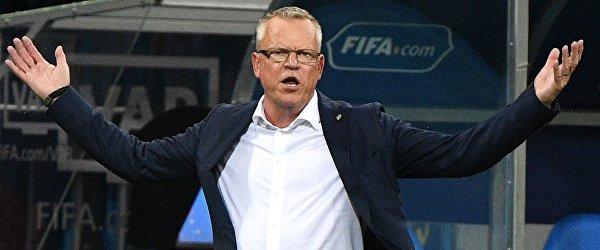 Главный тренер сборной Швеции Янне Андерссон