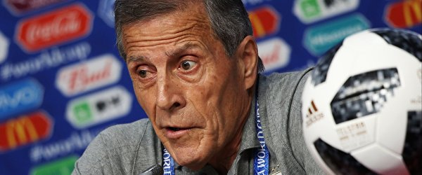 Главный тренер сборной Уругвая по футболу Оскар Табарес