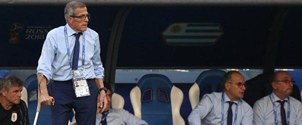 Главный тренер сборной Уругвая Оскар Табарес