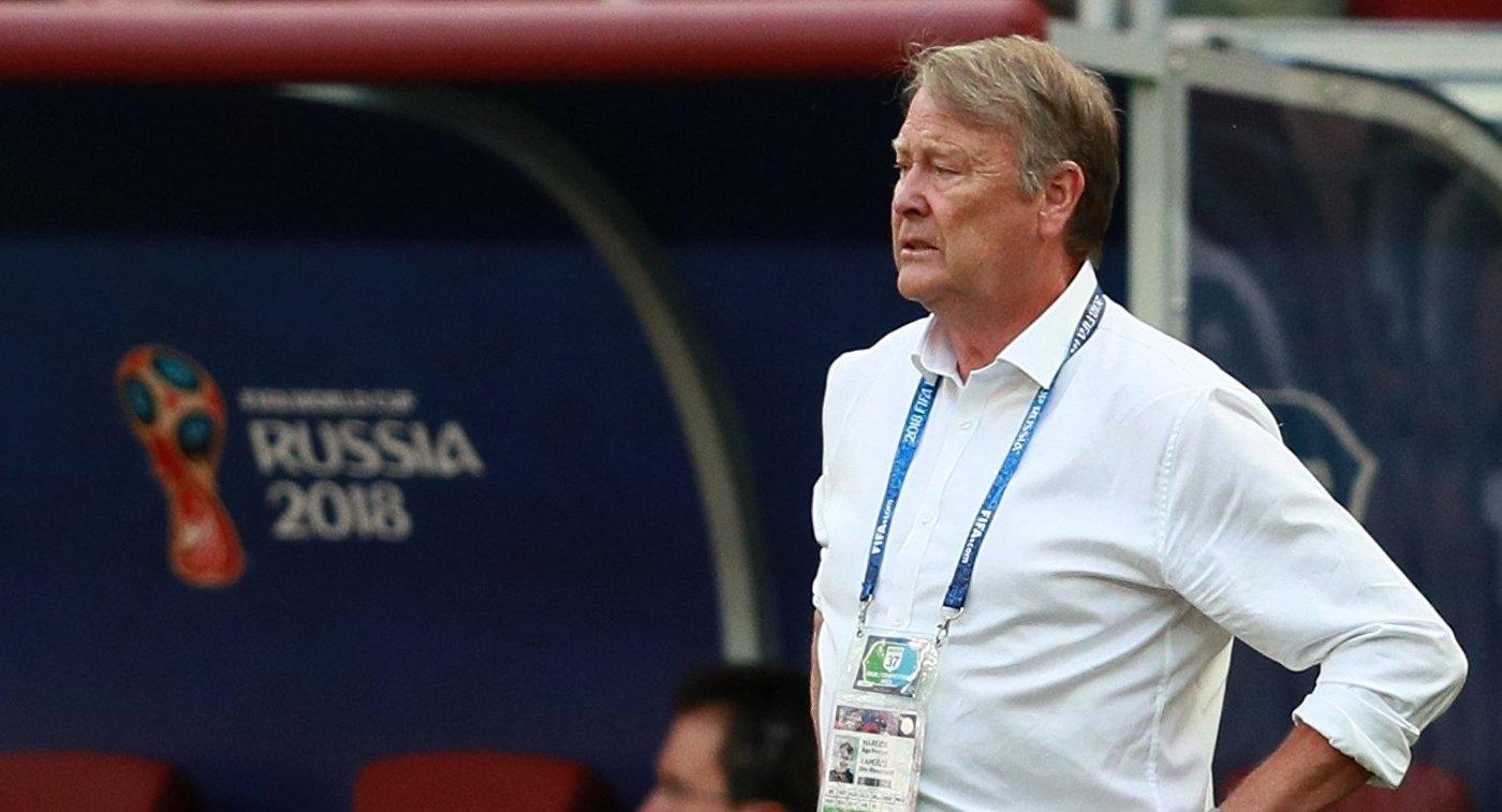 Главный тренер сборной Дании Оге Харейде