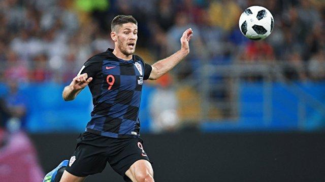 Нападающий сборной Хорватии Андрей Крамарич