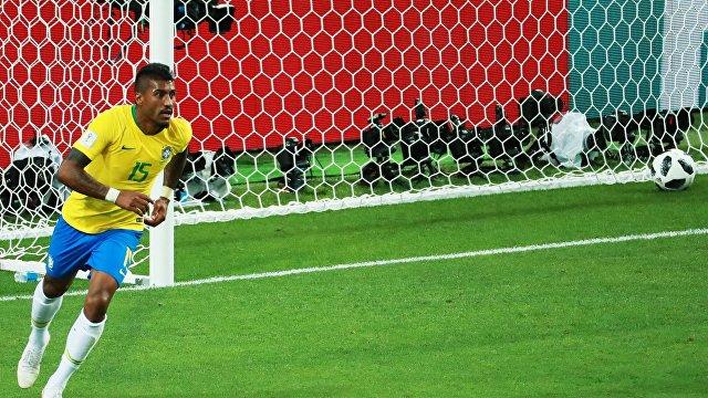 Бразильский футболист Паулиньо