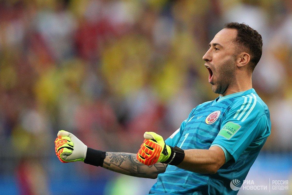 Вратарь сборной Колумбии Давид Оспина