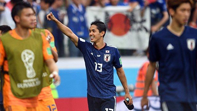 Форвард сборной Японии Йосинори Муто после матча