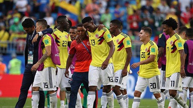 Футболисты сборной Колумбии