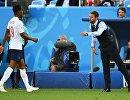 Форвард сборной Англии Маркус Рашфорд и главный тренер сборной Англии Гарет Саутгейт (слева направо)