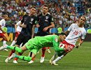Футбол. ЧМ-2018. Матч Хорватия - Дания