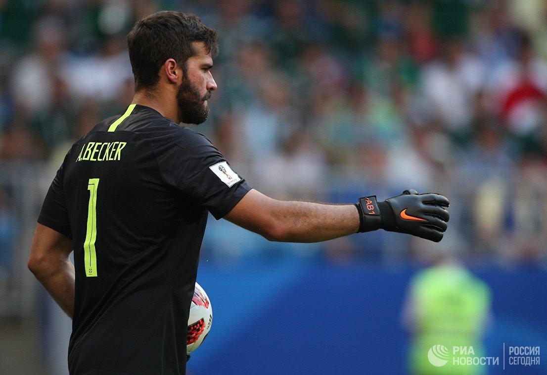 Вратарь бразильской сборной Алисон