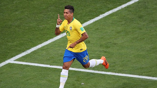 Бразильский форвард Роберто Фирмино