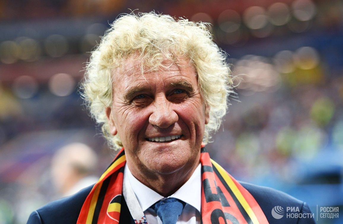 Бывший бельгийский футболист Жан-мари Пфафф