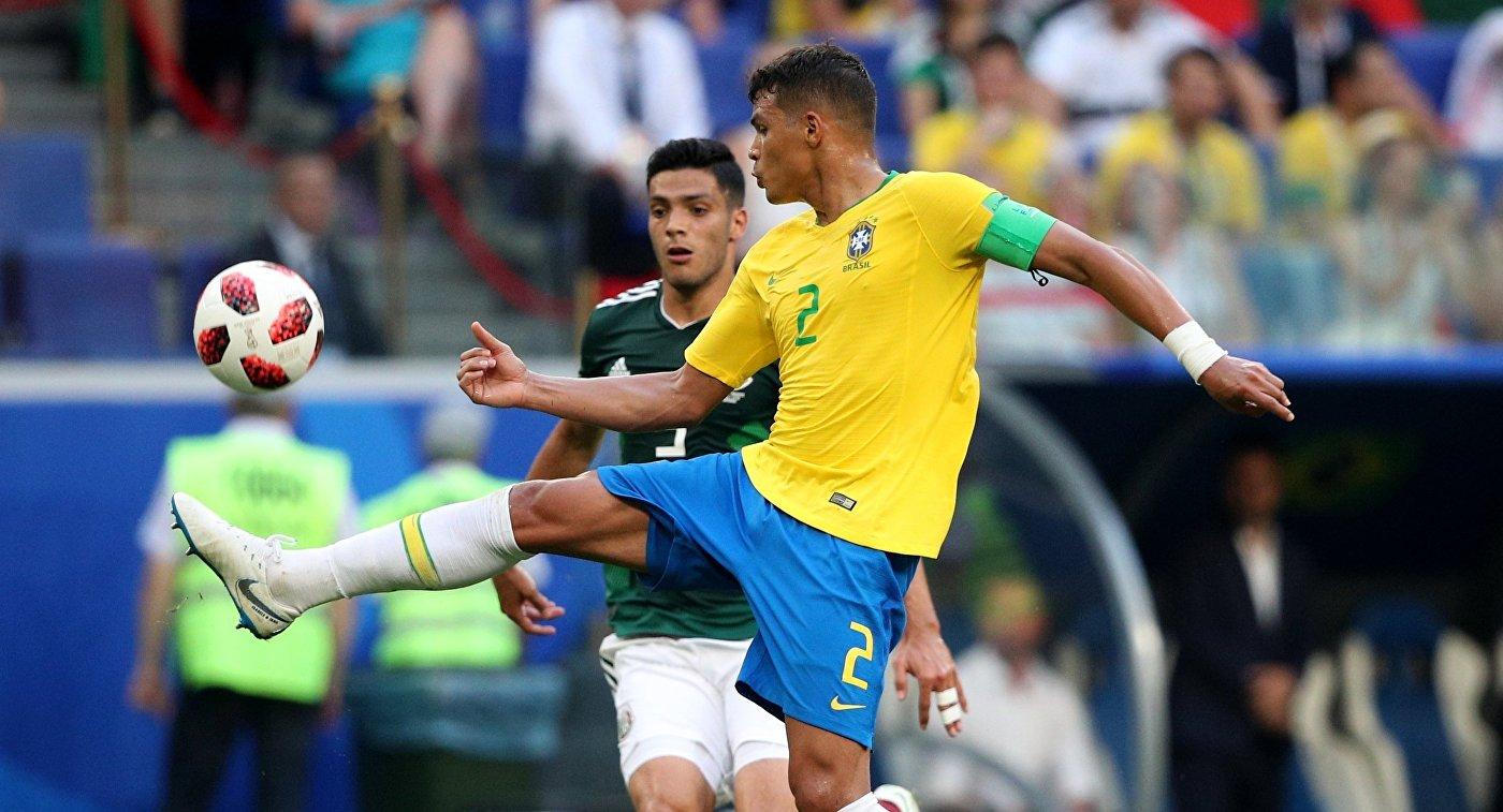 Тиаго Силва (Бразилия) (справа)