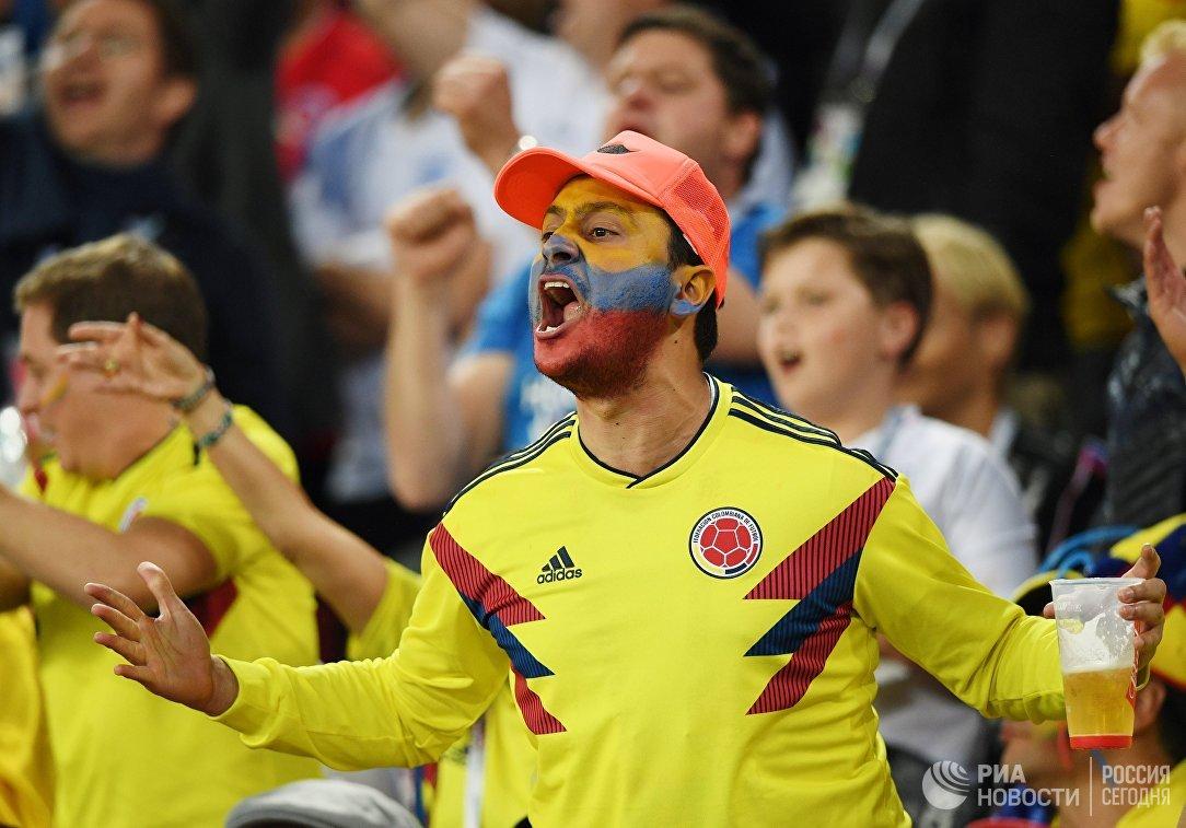 Болельщик сборной Колумбии