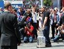 А. Овечкин представил Кубок Стэнли в Москве
