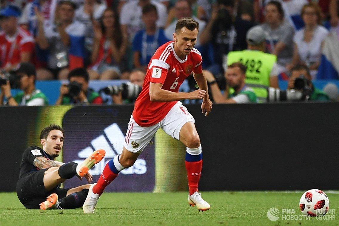 Шиме Врсалько и Денис Черышев