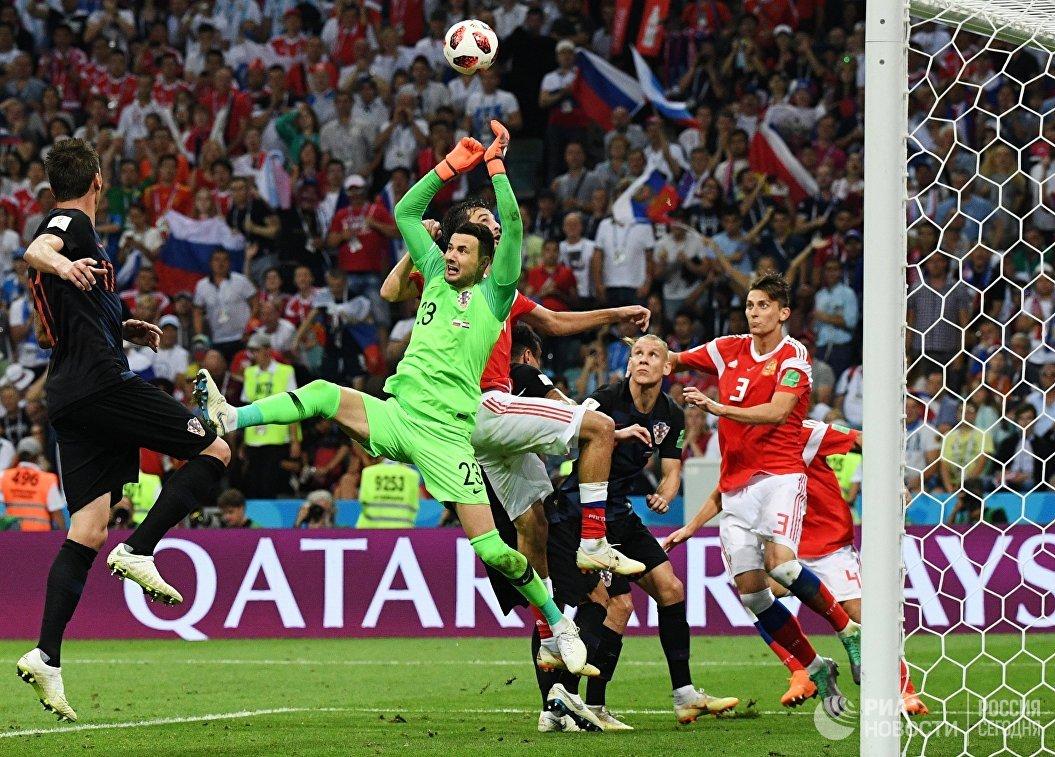 Черчесов назвал игру Россия - Хорватия лучшим матчем ЧМ-2018