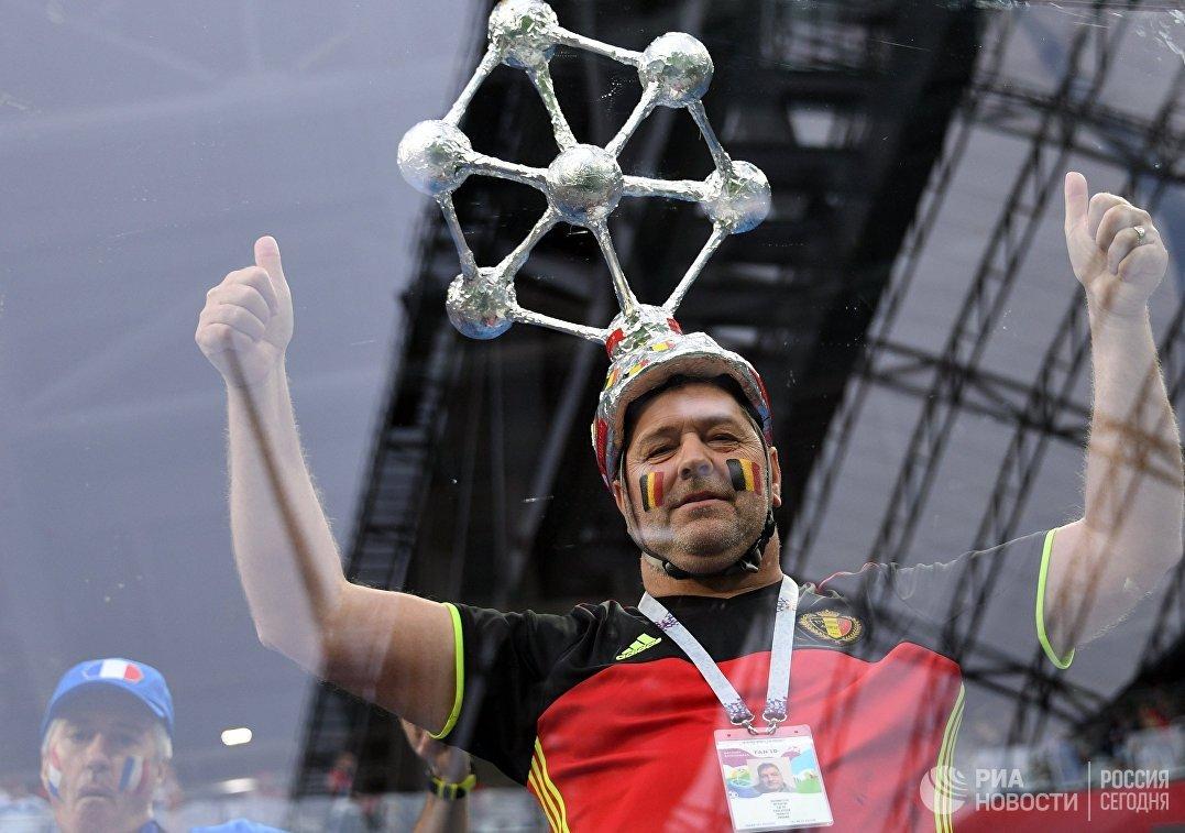 Болельщик сборной Бельгии