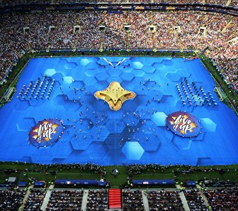 Торжественная церемония закрытия чемпионата мира
