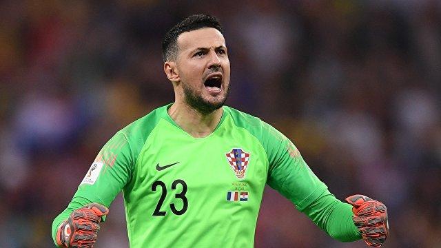 Вратарь сборной Хорватии Даниэль Субашич