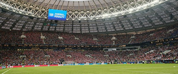 Решение о назначении пенальти в финальном матче чемпионата мира между сборными Хорватии и Франции