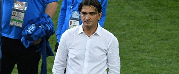 Главный тренер сборной Хорватии Златко Далич