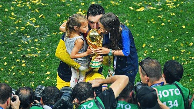 Вратарь сборной Франции Уго Льорис