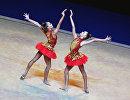 Российские гимнастки Дина Аверина и Арина Аверина