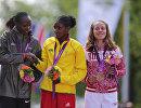 Приска Джепту, Тики Гелана и Татьяна Петрова-Архипова (слева направо)