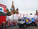 Автомобиль команды КАМАЗ-мастер под управлением Андрея Каргинова
