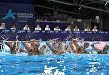 Российские синхронистки на чемпионате Европы в Глазго