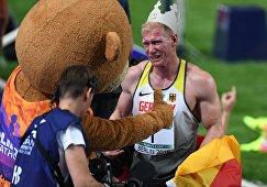 Легкая атлетика. Чемпионат Европы. Второй день